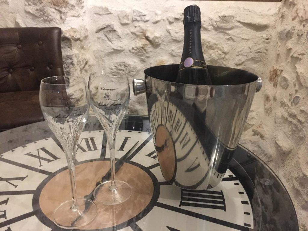 Espace détente personnalisé champagne