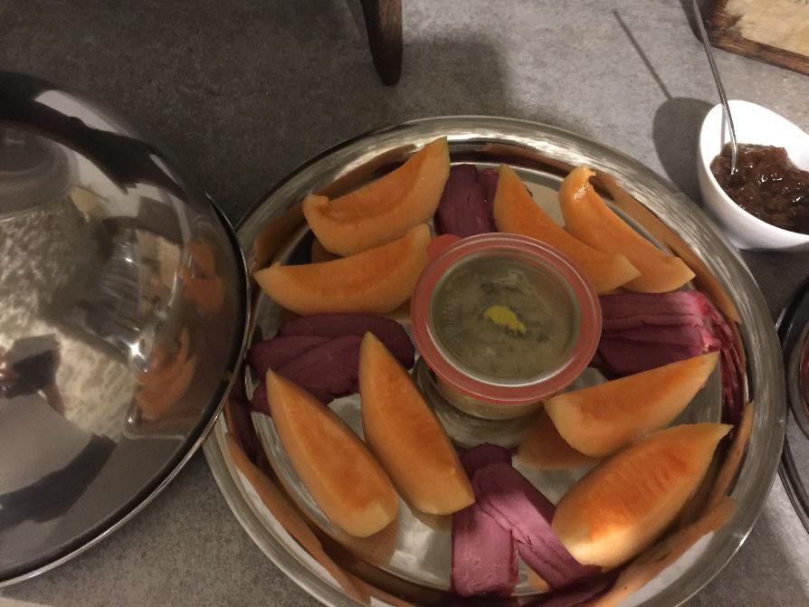Espace détente personnalisé foie gras et magrets