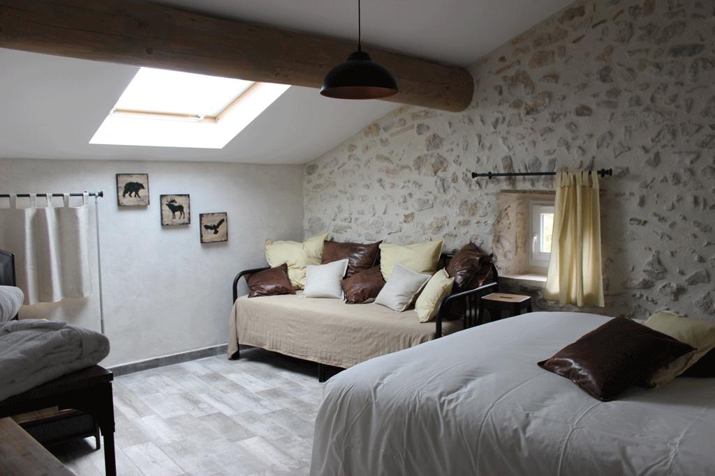 chambre fond musqu l 39 empreinte ard choise. Black Bedroom Furniture Sets. Home Design Ideas